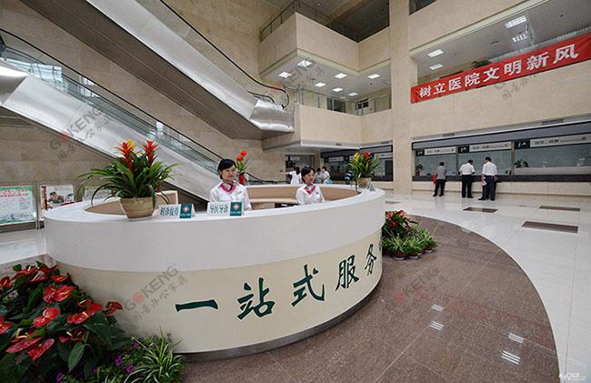 国景家具客户案列--广西北海市合浦县人民医院