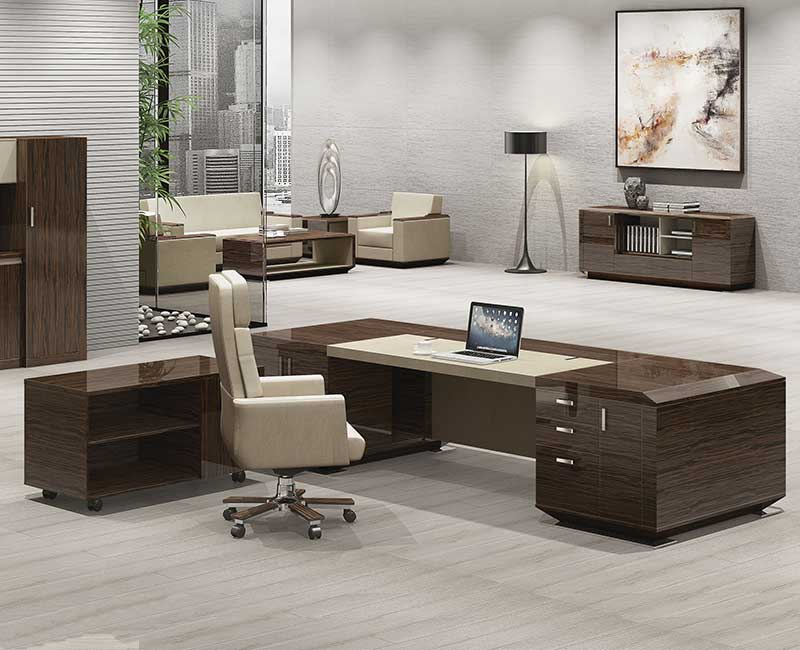 天熙系列-实木油漆办公桌G-P3B05R321