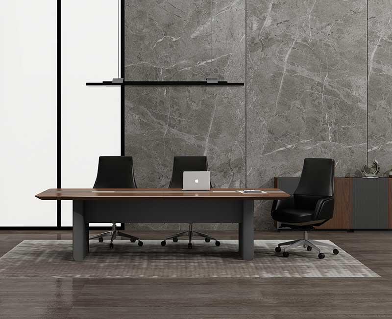 极简系列实木会议桌